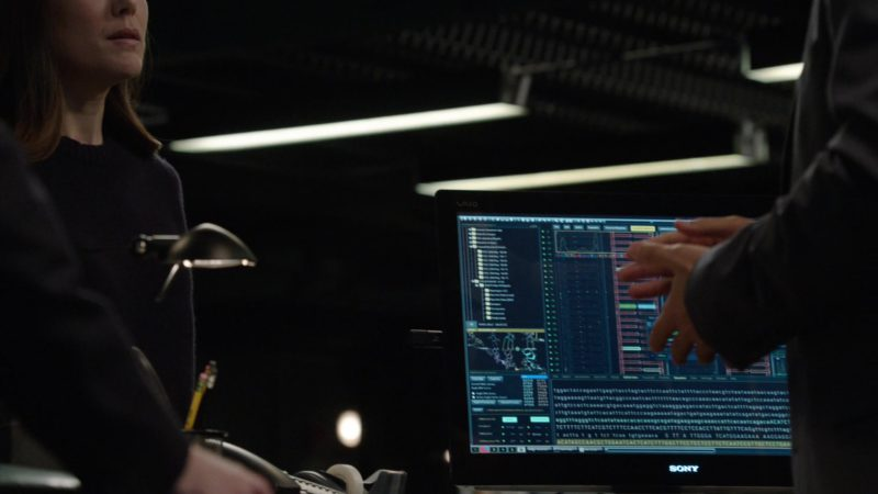 Sony Computer in The Blacklist - Season 6, Episode 20, Guillermo Rizal (2019) TV Show Product Placement