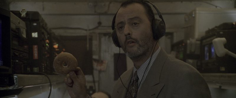 Sony Headphones Used by Jean Reno in Godzilla (1998) - Movie Product Placement