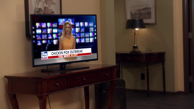 Sony TV & Fox News in Veep - Season 7 Episode 6, Oslo (2019) TV Show Product Placement