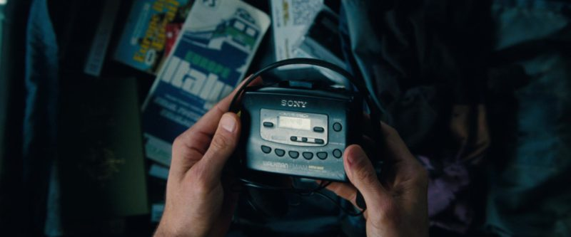 Sony Walkman Portable Cassette Player Held by Ben Stiller in The Secret Life of Walter Mitty (2013) - Movie Product Placement