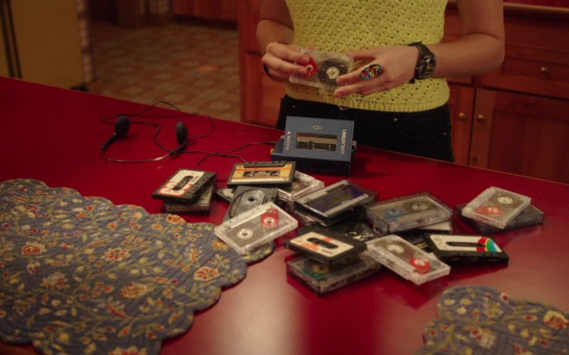 Sony Walkman Portable Cassette Player Used by Hayley Orrantia in The Goldbergs