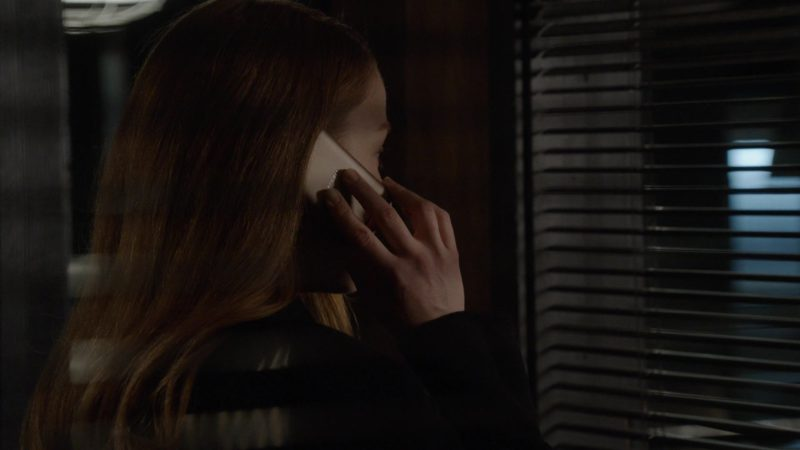 Sony Xperia Smartphone Used by Megan Boone in The Blacklist - Season 6, Episode 22, Robert Diaz (2019) - TV Show Product Placement