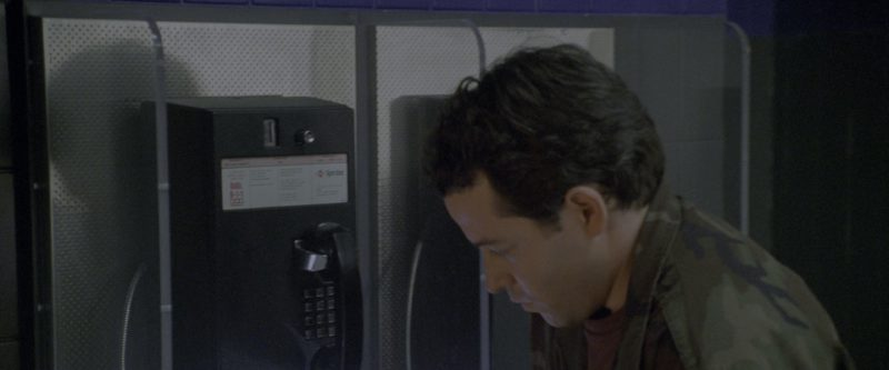 Sprint Payphones Used by Matthew Broderick in Godzilla (1998) - Movie Product Placement