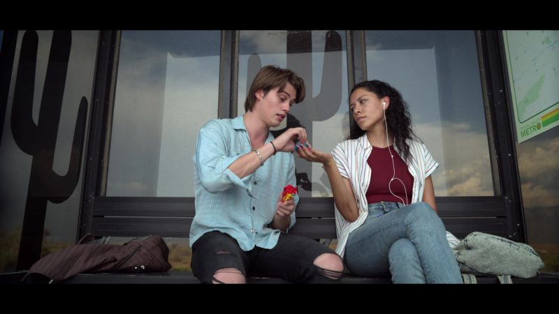 Starburst Candies Held by Nicholas Galitzine in Chambers - Season 1, Episode 3, Bad Inside (2019) - TV Show Product Placement