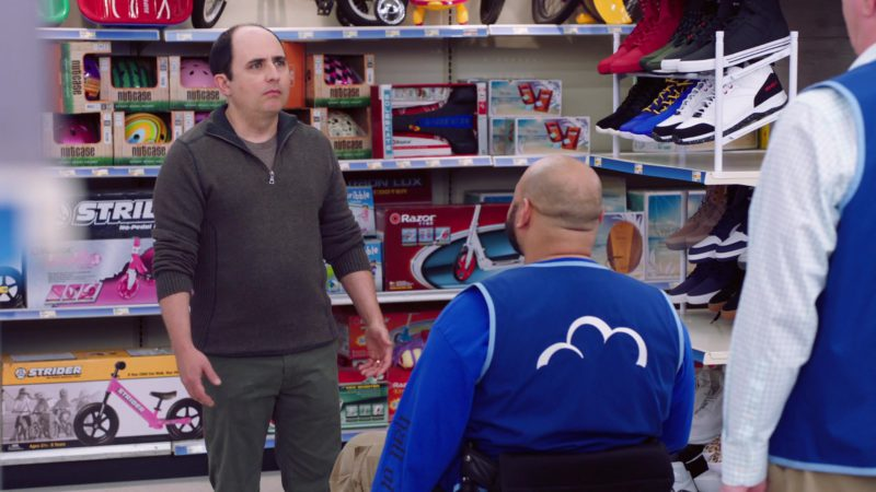 Strider Bikes, Razor Scooters & AND1 Sneakers in Superstore - Season 4, Episode 20, Cloud9Fail (2019) TV Show Product Placement