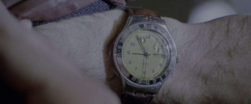 Swatch Men's Wrist Watch Worn by Matthew Broderick in Godzilla (1998) - Movie Product Placement