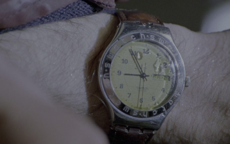 Swatch Men's Wrist Watch Worn by Matthew Broderick in Godzilla