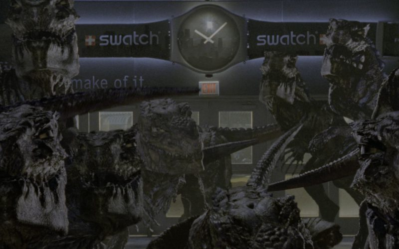 Swatch Watches Billboard in Godzilla (1)