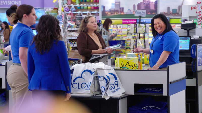 Swiffer Duster and LaCroix Sparkling Water in Superstore - Season 4, Episode 18, Cloud Green (2019) TV Show