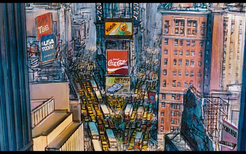 TAB, USA Today, Sony, Kodak, Coca-Cola in Oliver & Company