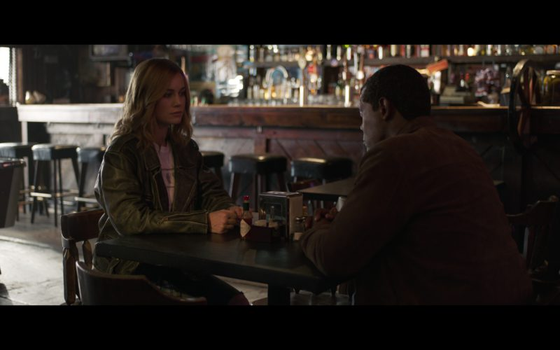 Tabasco Sauce in Captain Marvel