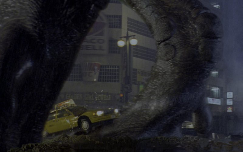 Taco Bell & KFC Signs in Godzilla
