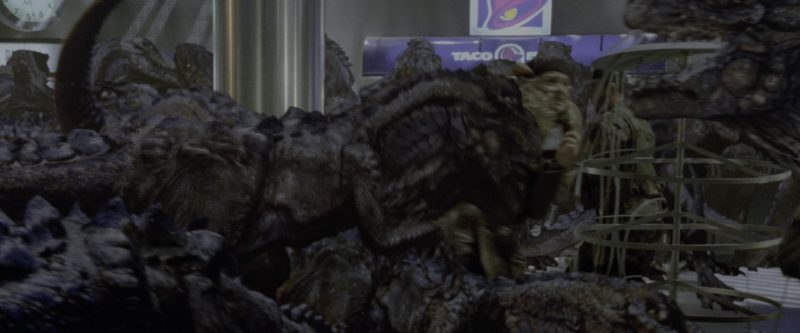 Taco Bell Restaurant in Godzilla (1998) - Movie Product Placement