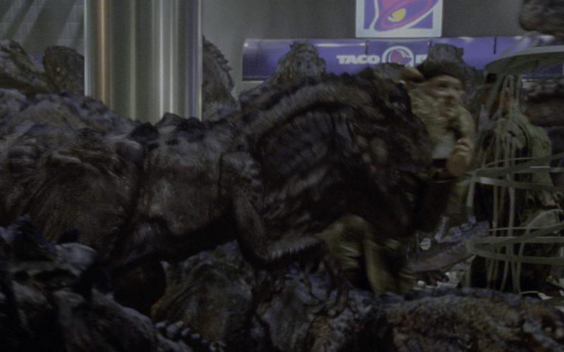 Taco Bell Restaurant in Godzilla