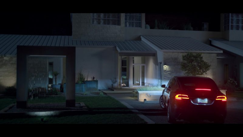 Tesla Model X SUV Used by Uma Thurman in Chambers - Season 1, Episode 6, With Grace and Gratitude (2019) - TV Show Product Placement