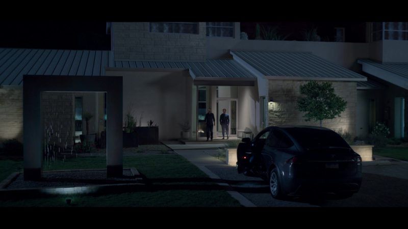 Tesla Model X SUV Used by Uma Thurman in Chambers - Season 1, Episode 6, With Grace and Gratitude (2019) TV Show Product Placement