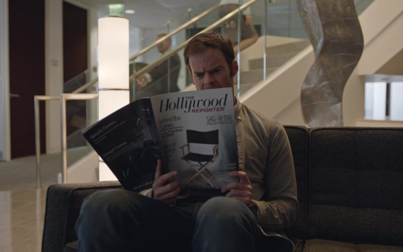 The Hollywood Reporter Magazine Held by Bill Hader in Barry (1)