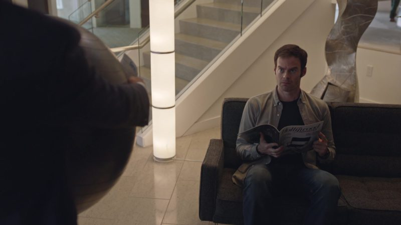 The Hollywood Reporter Magazine Held by Bill Hader in Barry - Season 2, Episode 7, The Audition (2019) - TV Show Product Placement