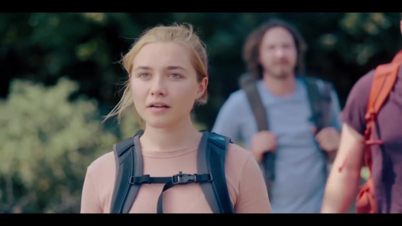 The North Face Backpack Used by Florence Pugh in Midsommar (2019) Movie Product Placement