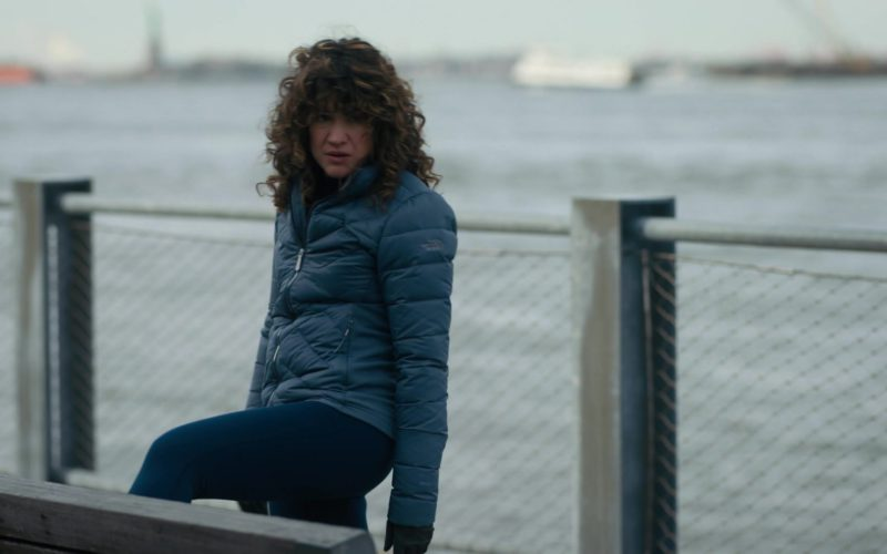 The North Face Jacket Worn by Sarah Stiles in Billions (1)