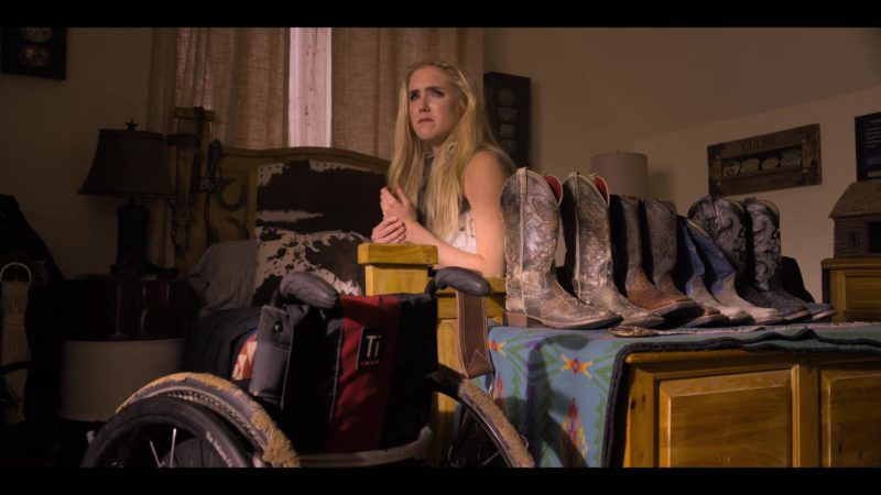 TiLite Wheelchair Used by Spencer Locke in Walk. Ride. Rodeo. (2019) - Movie Product Placement