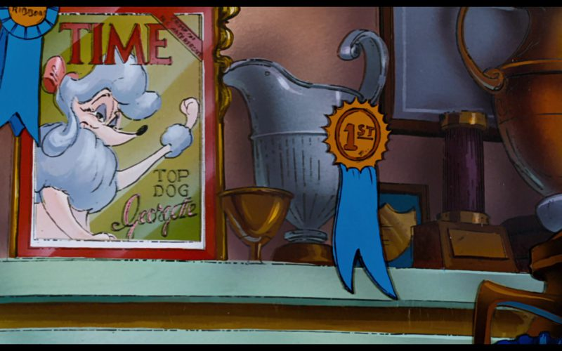 Time Magazine Cover in Oliver & Company (1)