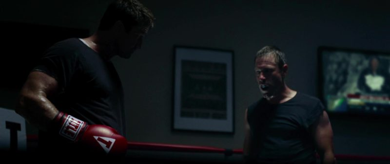 Title Red Boxing Gloves Worn by Gerard Butler in Olympus Has Fallen (2013) - Movie Product Placement