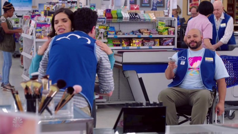 Twix, M&M's, Snickers in Superstore - Season 4, Episode 19, Scanners (2019) - TV Show Product Placement