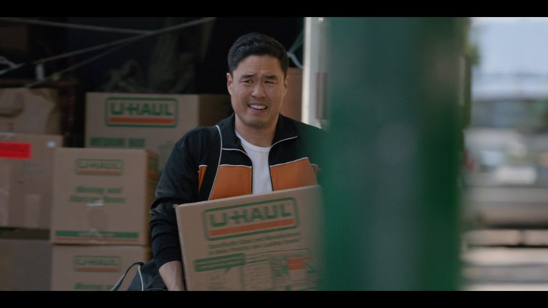 U-Haul Boxes Held by Randall Park in Always Be My Maybe (2019) - Movie Product Placement