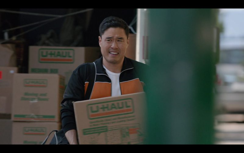 U-Haul Boxes Held by Randall Park in Always Be My Maybe (2)