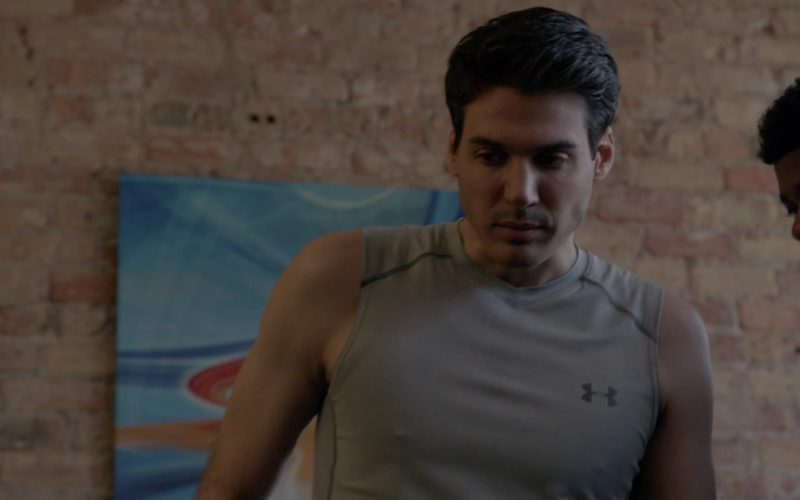 Under Armour T-Shirt Worn by Actor in Chicago Fire (4)