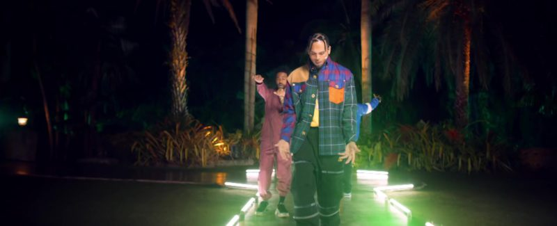"Versace Jacket Worn by Chris Brown in ""Jealous"" by DJ Khaled ft. Lil Wayne, Big Sean (2019) - Official Music Video Product Placement"