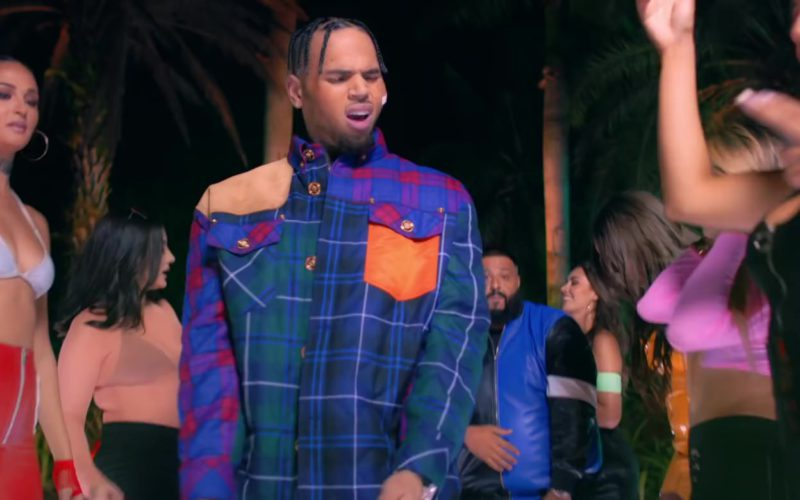 Versace Jacket Worn by Chris Brown (6)
