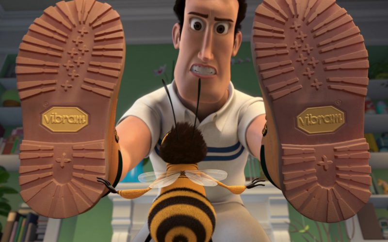 Vibram Boots in Bee Movie