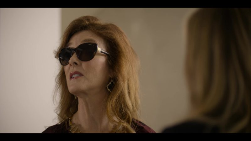 Vogue Sunglasses Worn by Valerie Mahaffey in Dead to Me - Season 1, Episode 3 (2019) TV Show Product Placement