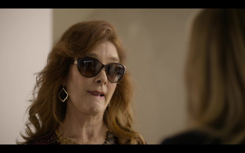 Vogue Sunglasses Worn by Valerie Mahaffey in Dead to Me (4)