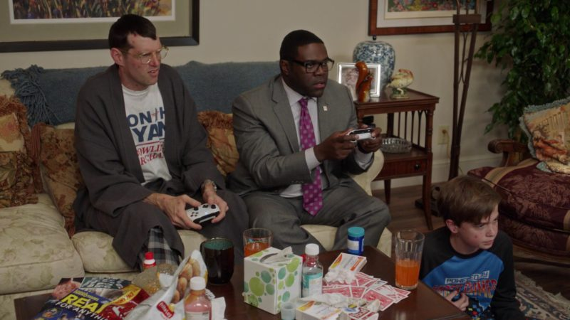 Xbox Console Controllers & Frito-Lay Chips in Veep - Season 7 Episode 6, Oslo (2019) TV Show Product Placement