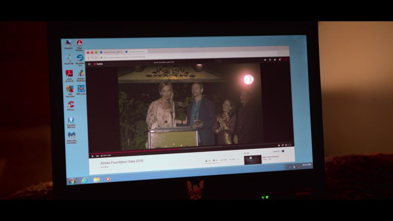 Youtube in Chambers - Season 1, Episode 5, Murder on My Mind (2019) - TV Show Product Placement