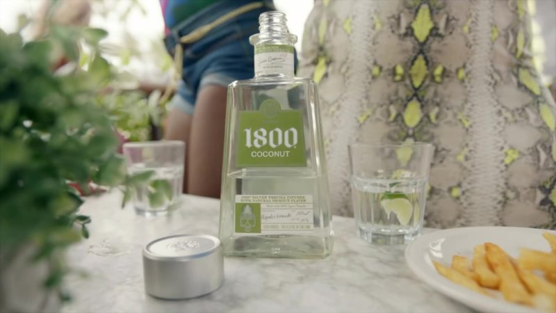 1800 Coconut Tequila in Act Up by City Girls (2019) - Official Music Video Product Placement