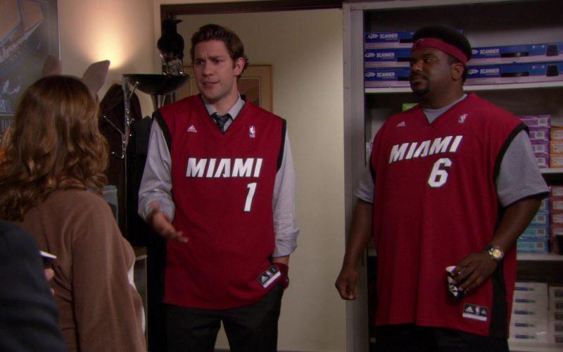 Adidas x Miami Heat NBA Jersey Worn by Craig Robinson (Darryl Philbin) in The Office (1)