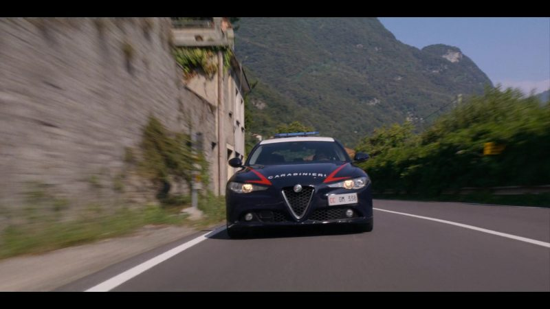 Alfa Romeo Car in Murder Mystery (2019) - Movie Product Placement