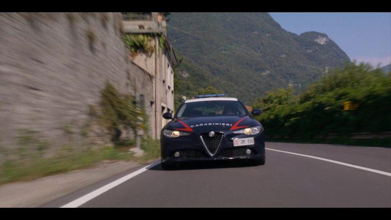 Alfa Romeo Car in Murder Mystery (2019) Movie