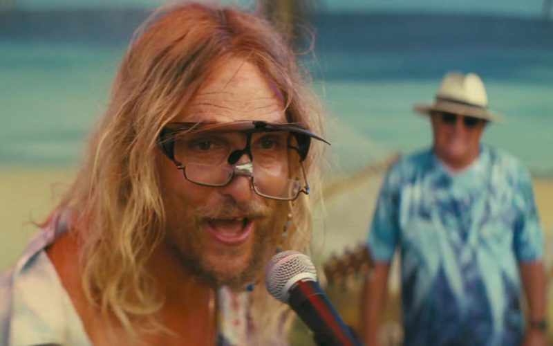 Aloha Eyewear Sunglasses Flip-Up Cover Up by Matthew McConaughey in The Beach Bum (8)