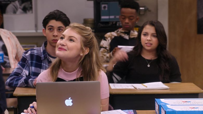 "Apple MacBook Laptop Used by Brooke Sorenson in Mr. Iglesias - Season 1, Episode 9, ""Oh Boy, Danny"" (2019) TV Show Product Placement"