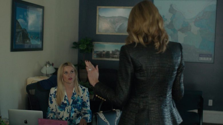 Apple MacBook Laptop Used by Reese Witherspoon in Big Little Lies - Season 2, Episode 3, The End of the World (2019) TV Show Product Placement