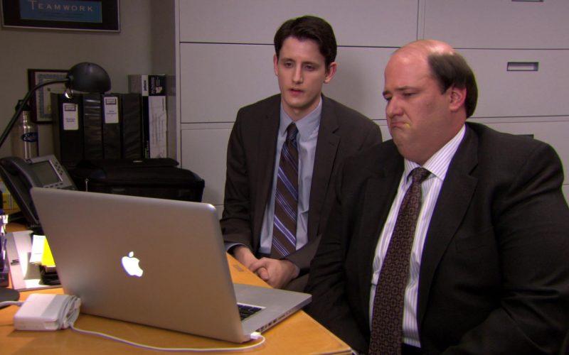 Apple MacBook Pro Laptop Used by Brian Baumgartner (Kevin Malone) & Zach Woods (Gabe Lewis) (1)