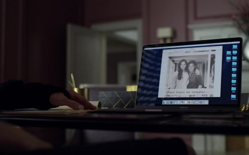 Apple MacBook Pro Laptop Used by Carrie-Anne Moss in Jessica Jones – Season 3, Episode 6 (1)