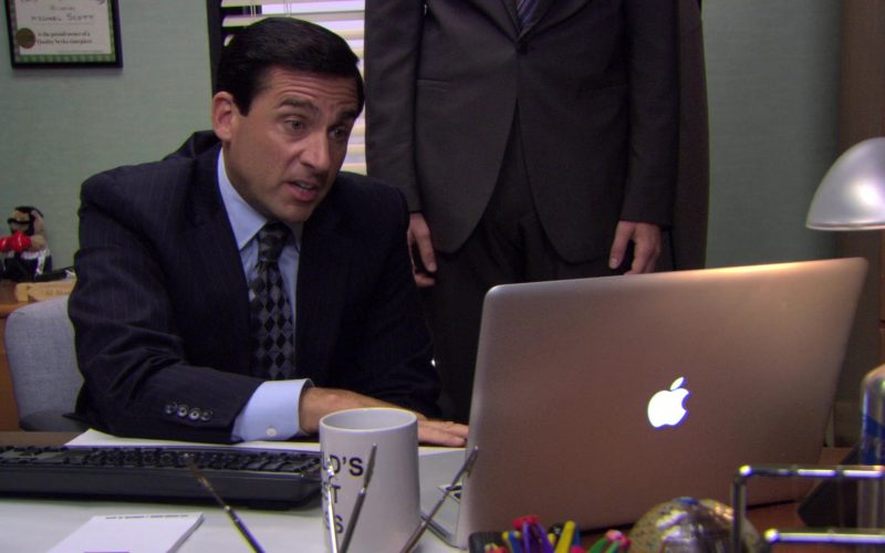 Apple MacBook Pro Laptop Used by Steve Carell (Michael Scott) in The Office (1)