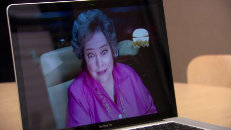 """Apple MacBook Pro Laptop Used by Zach Woods (Gabe Lewis) in The Office – Season 6, Episode 15, """"Sabre"""" (2010) TV Show"""