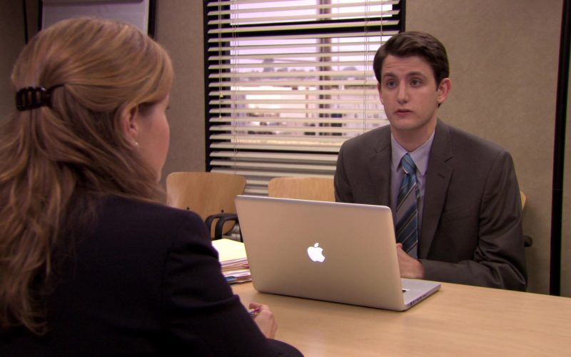 Apple MacBook Pro Laptop Used by Zach Woods (Gabe Lewis) in The Office